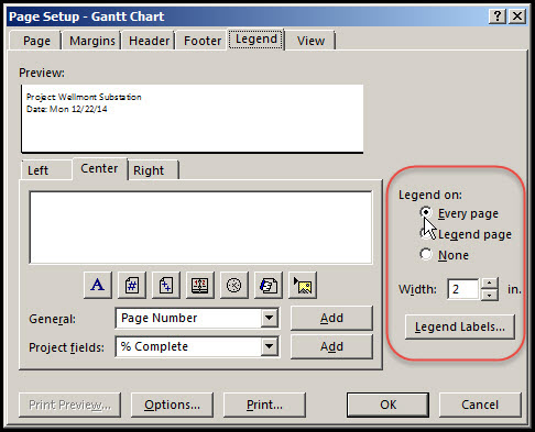 Microsoft Project Print To Pdf Options Explored