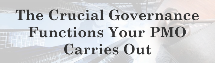 The Crucial Governance Functions Your PMO Carries Out