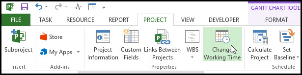 Modeling Cure Time in Microsoft Project 6