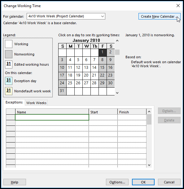 Modeling Cure Time in Microsoft Project 7