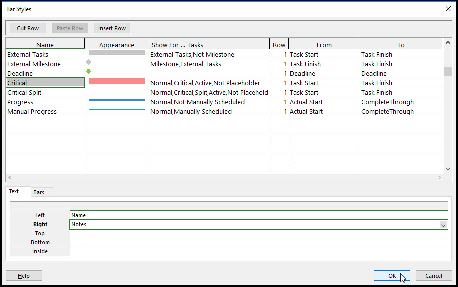 How To Add Task Notes In Microsoft Project Fig 11
