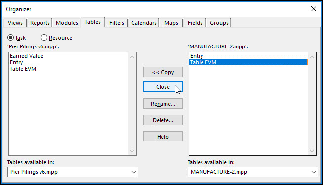 Copying Tables Between Projects In Microsoft Project Fig 11