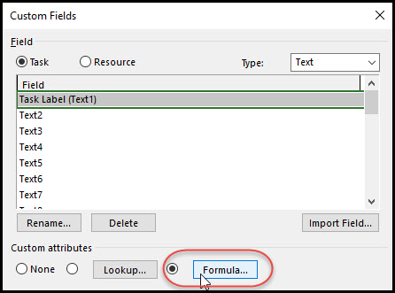 Task Bar Labels Using Multiple Fields In Microsoft Project Fig 4