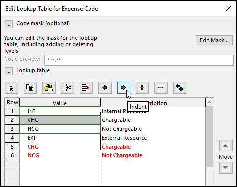 The Benefits of Using Outline Codes in Microsoft Project Fig 11