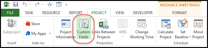 The Benefits of Using Outline Codes in Microsoft Project Fig 3