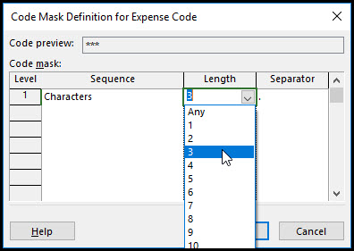 The Benefits of Using Outline Codes in Microsoft Project Fig 9
