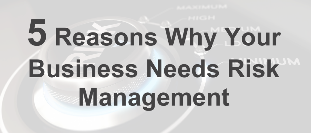 Why Your Business Needs Risk Management